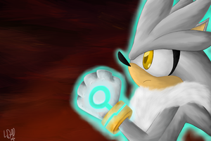 Silver the Hedgehog by driscy7687