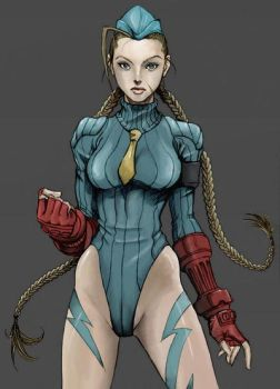 Street Fighter: cammy by cameron-18