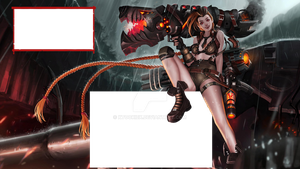Elite Squad Jinx Outgame Overlay by xTookiex
