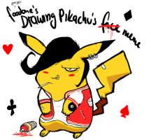 Drawing Pikachu's Rockabilly by M1as