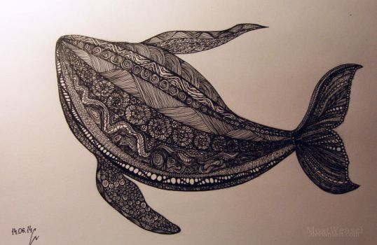 whale by MostWeasel