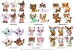 Littlest Pet Shop Sweet Repaint Concepts by Kuthinks