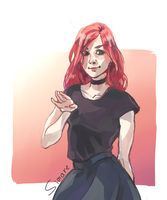 Red haired by simaSIMART