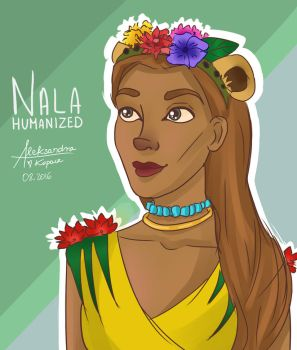 Nala humanized  by OlaKop