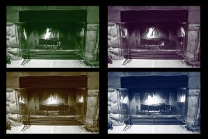 Fireplace by magicia