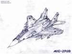 MiG-29UB by TheXHS