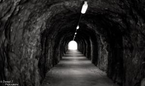 The Light At The End Of The Tunnel. by DominikJPhotography
