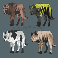 Wolf batch Auction cLOSED by SinAdopts