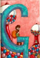 G is for Giants and Gumballs by TheLuckyStarhopper