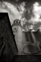 Girona Cathedral by eternumviti