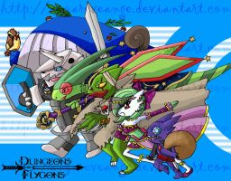 Dungeons and Flygons 7000 Hits by anzareveange