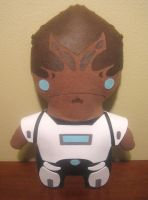 mass effect chibi grunt by viciouspretty