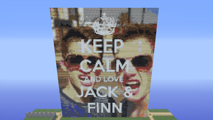 KEEP CALM AND LOVE JACK AND FINN by i-is-your-friend