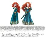 Princess Merida Make Over! by Eszra01
