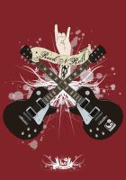 rock and roll by craniodsgn