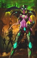 Maiev_Shadowsong by Hitchlee