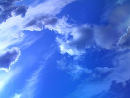 deep blue sky by arghus
