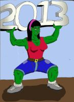 Lifting for 2013 by Woaddragon