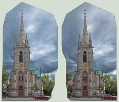 St. Elisabeth - Cross Eye 3D by zour