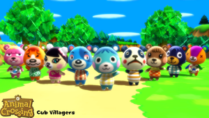 (MMD Model) Cub Villagers Download by SAB64