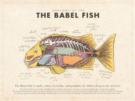 Babel Fish Poster (Color) by mrrtist21