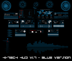 Hi-Tech HUD (BLUE) by hekee