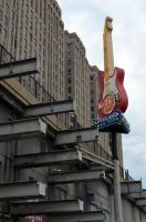 Cleveland Tower City Hard Rock by coffeenoir