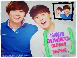 Wall kyumin BY ALE by DDLoveEditions