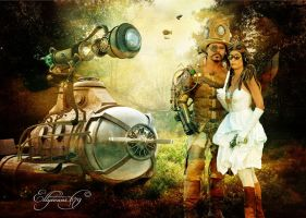 Steampunk Air Show by Ellyevans679