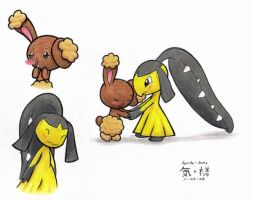 Buneary and Mawile... by RenoVash