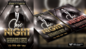 CHIC NIGHT Free Flyer Template by WGVISUALARTS
