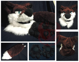 Snarky Fox Partial (FOR SALE) by Meowipede
