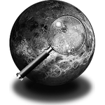 Steampunk Planetary Greyscale Icon by yereverluvinuncleber