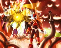 Megaman Zero. The Final by doghateburger