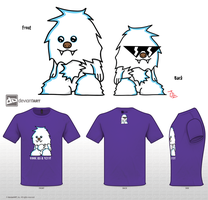 Cool as a Yeti by SentientDesigns