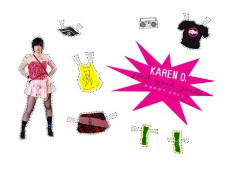 Karen O Paper Doll by heavymetalheart