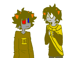 Sollux: Get the lunatic out of your room! [CNRF06] by LifeIsGoingOn