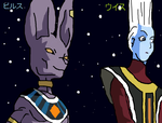 Bills and Whis by PikachuStar93