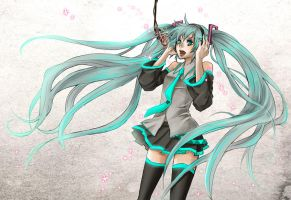 Vocaloid : Hatsune Miku by Zoo-chan
