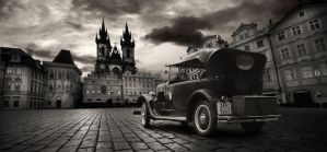 vintage Prague by almiller