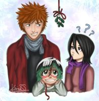 Bleach: Ichiruki ft. Nel by rainstormangel