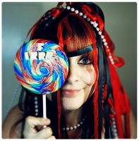 idiot with lollipop by irrr