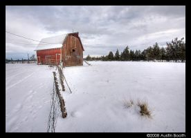 Deschutes County Barn by austinboothphoto