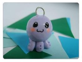 Octopus necklace by poring-lover