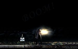 Sylar goes BOOM by Jackieale