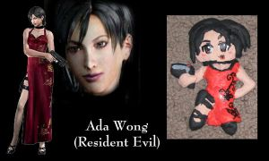 Ada Wong Ornament by All-shall-fade