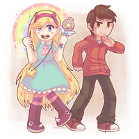 star vs the forces of evil by Azurane