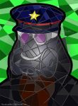 Zee Captain in the Stained Glass by AllerleiArt