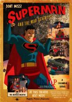 Retro Style Superman Poster by DESPOP