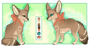 Fennec Fox Design Trade by Maonii